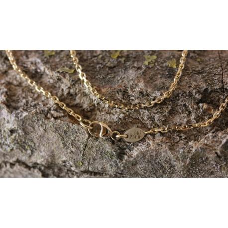 Chaine Forçat Diamantée 1,2mm