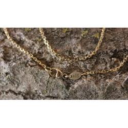Chaine Forçat Diamantée 1,4mm